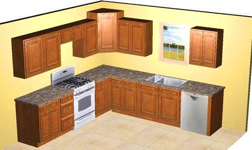 Pictures of 10x10 kitchens best home decoration world class for 10x10 kitchen cabinets