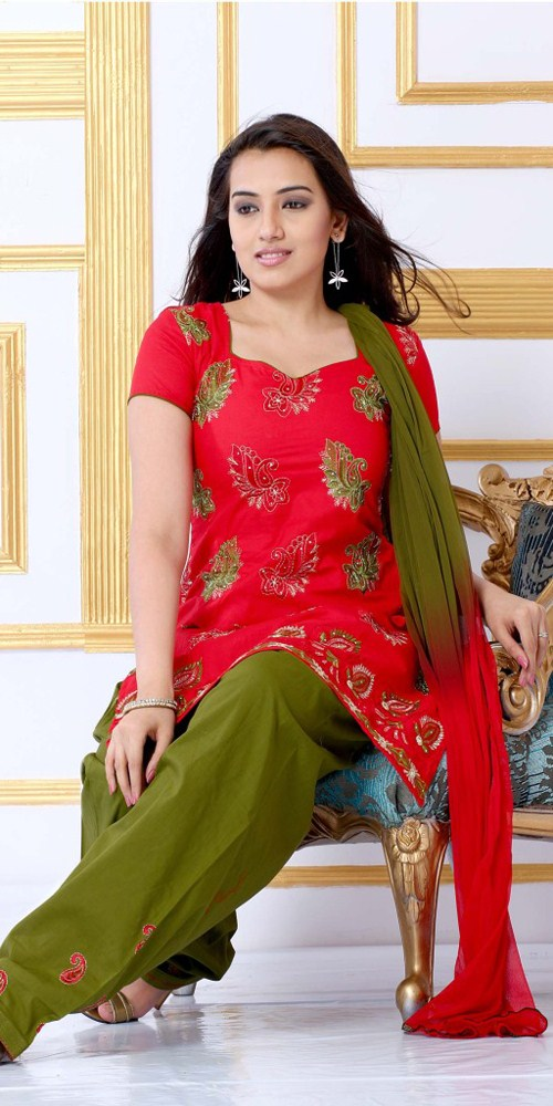 red-cotton-salwar