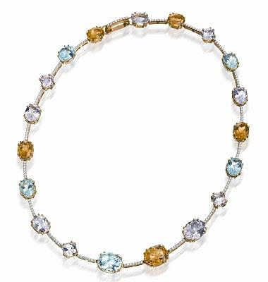 Diamond and Gemstone Bracelet