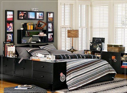 These are some great teenage rooms for teenage boys. These are from