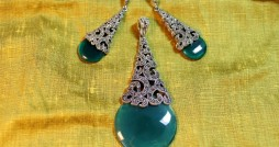green onyx set