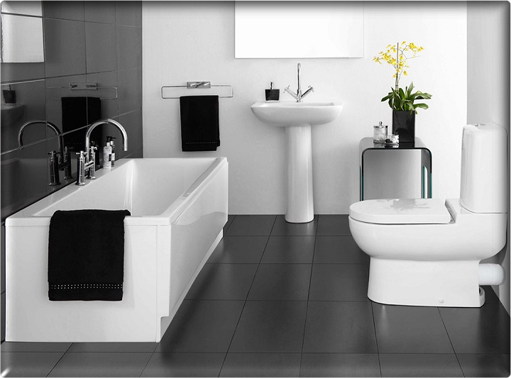 Impressive Black and White Bathroom Design Ideas 720 x 533 · 85 kB · jpeg