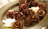 chocolate flowers
