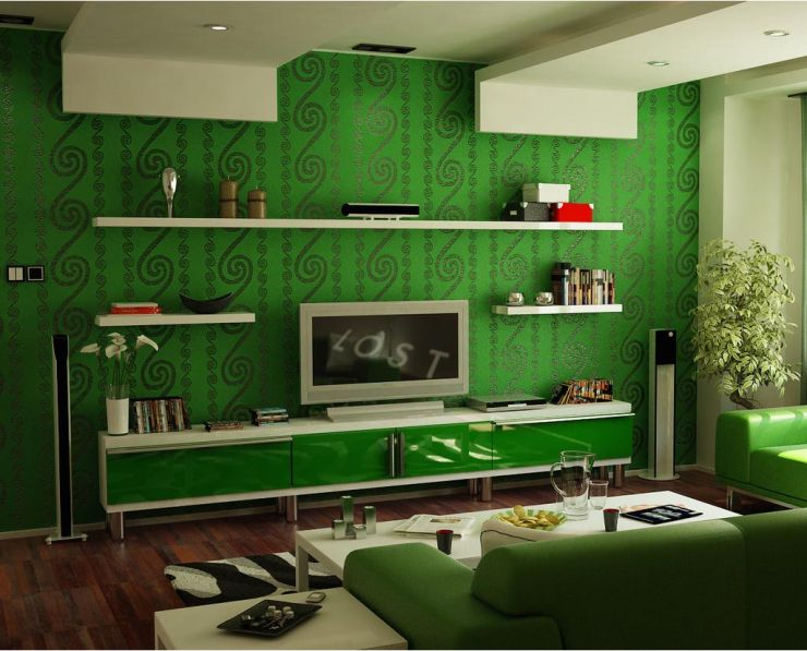 Green living room ideas minmit