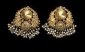 antique gold earrings gili ole