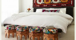 Indian Ethnic Bedroom Interiors