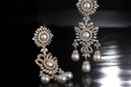 diamond jhumkas earrings