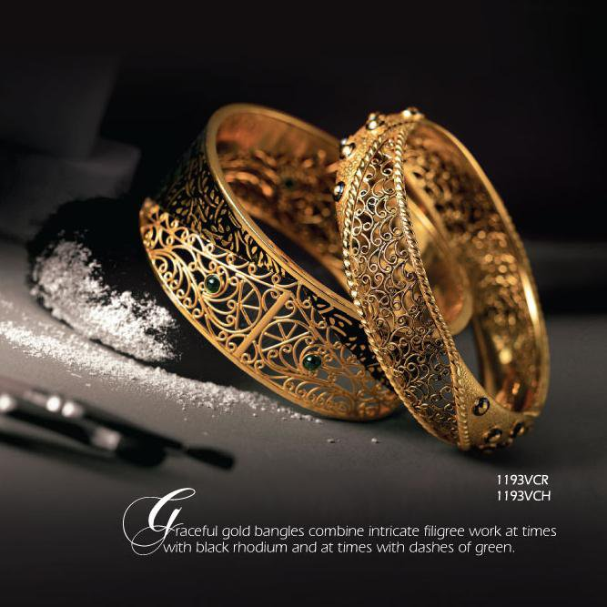 Stunning Tanishq Bangles Collection And Look Your Best