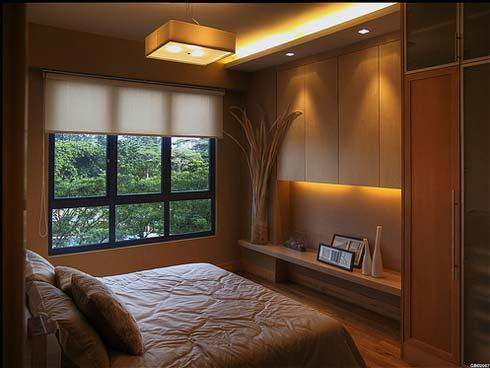 Small and Elegant Bedroom Interiors MinMit