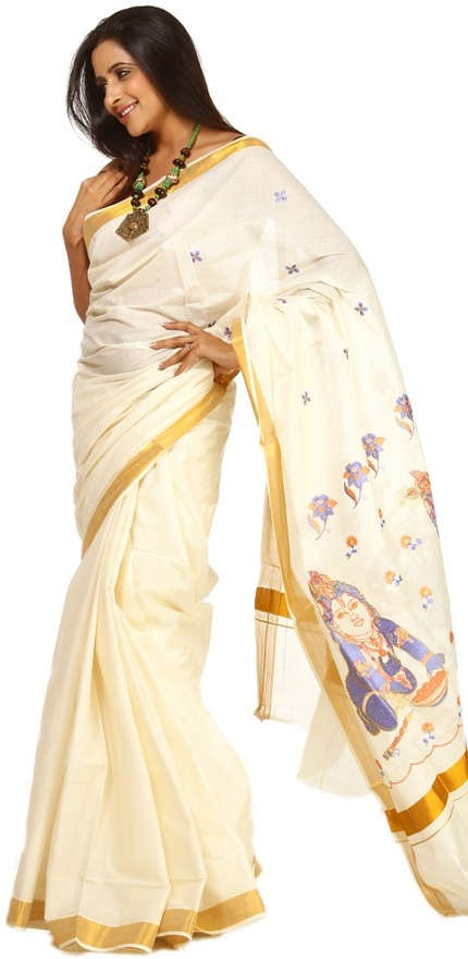 kerala kasavu sarees