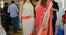 Sangeeta Bijlani looks radiant in an Anita Dongre saree