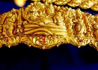 gold vaddanam designs