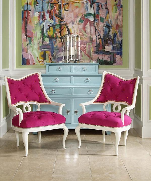 colourful-upholster-chairs