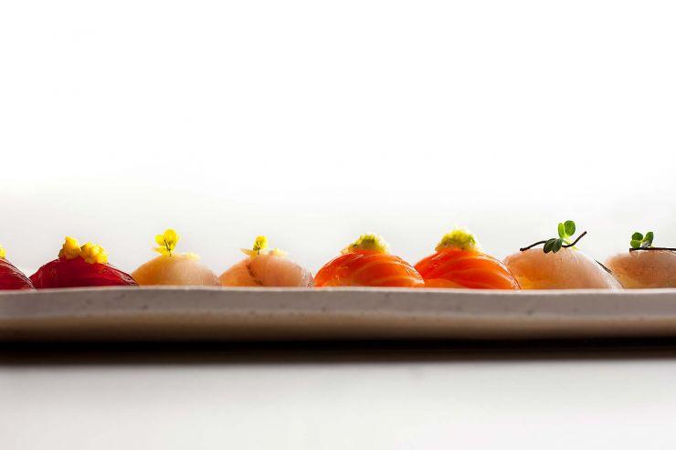 Assorted Nigiri platter-francesco-tonelli-food-photography
