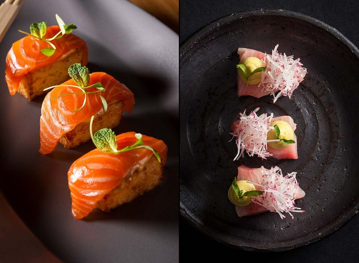 Hamachi sashimi-francesco-tonelli-food-photography