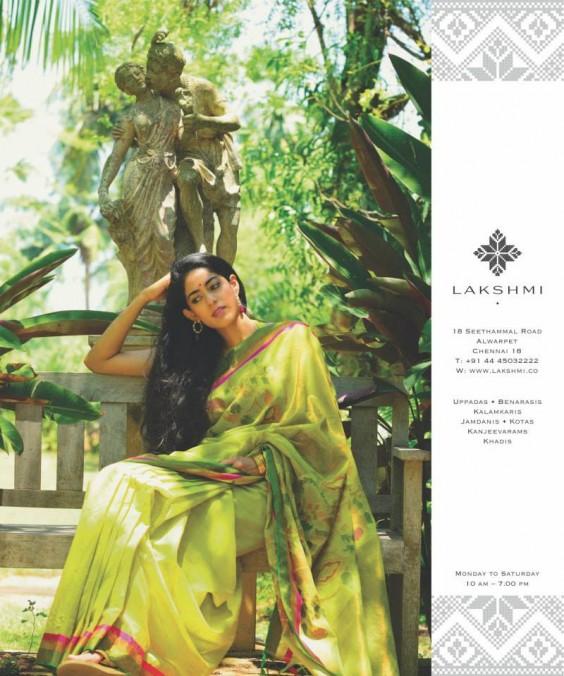 green uppada saree