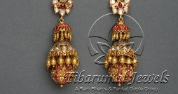 earrings-with-gold-drops