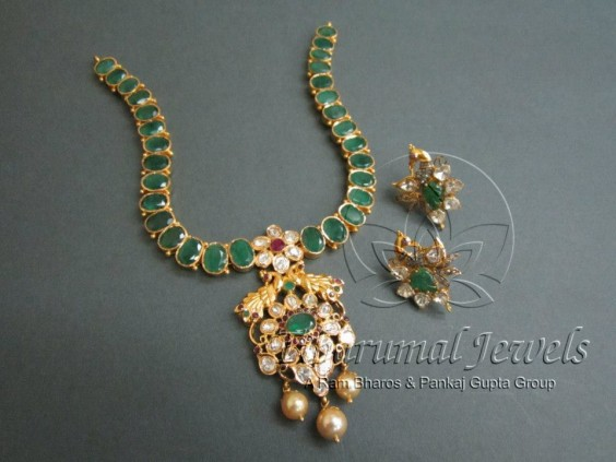 emerald_with_uncuts_pendant_tibarumals