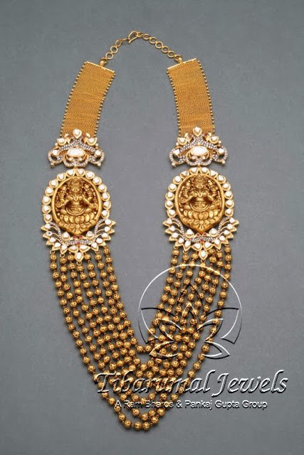 gold_beads_lakshmi_pendant_tibarumals