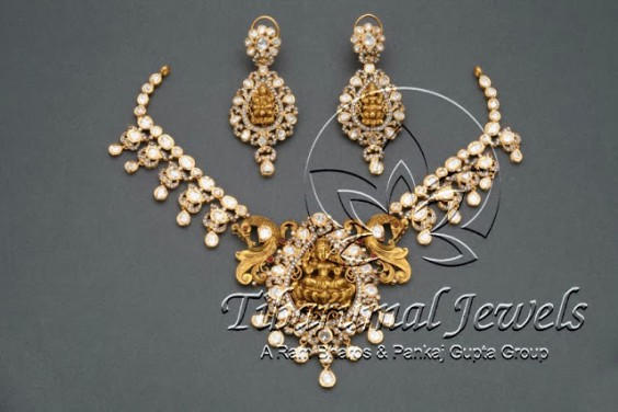gold_uncuts__lakshmi_pendant_tibarumals