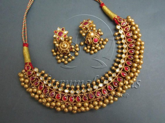 ruby_gold_beads_necklace_tibarumals