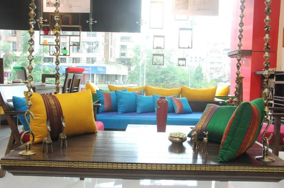 colourful cushions from furnicheer-ethnic-furniture