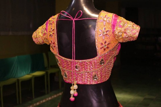 zari work designer blouse by studio 149
