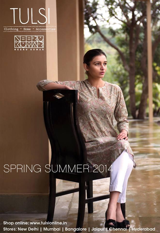 Kurtas, Kurta Sets, Dresses, Tunics, Pants in fresh summer colors from tulsi online