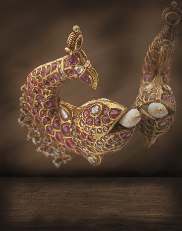 ruby_fish_earrings_from_navrathan_jewellers
