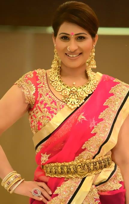 shreedevi chowdhary in diamond mango mala from mbs jewellers