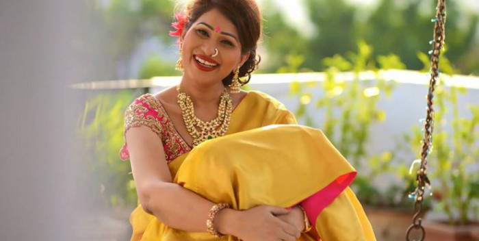 shreedevi chowdhary in two later mango mala from mbs jewellers