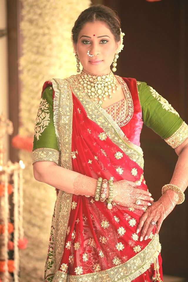 shreedevi chowdhary in ROYAL UNCUT DIAMOND COLLECTION IS DESIGNED BY MBS JEWELLERY
