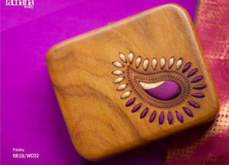 Lotus Sutra Purse collection from rachana reddy
