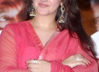sridevi vijaykumar wearing pink salwar kameez