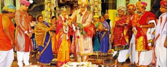 maharaja yadhuveer krishnadatta chamaraja wadiyar and trishika kumari marriage pics
